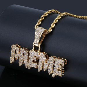 Iced Out PREME CZ Pendant and Chain