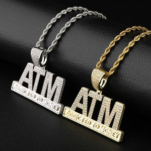 Iced Out CZ ATM Chain