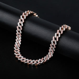 14mm Iced Out Miami Link Chain