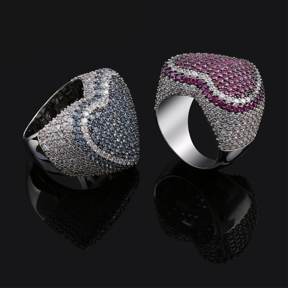 Iced Out Micro Pave CZ Ring
