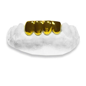 The Even Steven-real-gold-custom-grillz