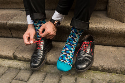 Socks - Trigons - Teal