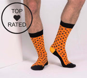 Socks - Triangle Me - Orange