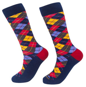 Socks-Argyle-Cool-Patterns-Crew-Socks-yellow