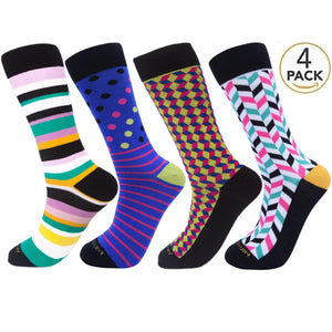 Assorted Socks (4 Pairs) - New Designs #2