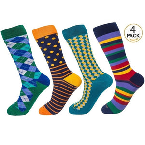 Assorted Socks (4 Pairs) - New Designs #6