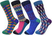 Assorted Socks (4 Pairs) - Original Colors