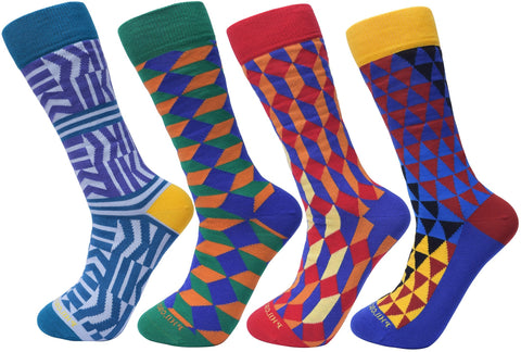 Assorted Socks (4 Pairs) - Newer Designs #4