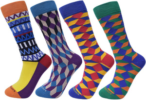 Assorted Socks (4 Pairs) - Newer Designs #5