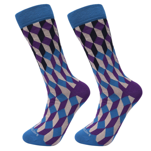 Assorted Socks (4 Pairs) - Newer Designs #3