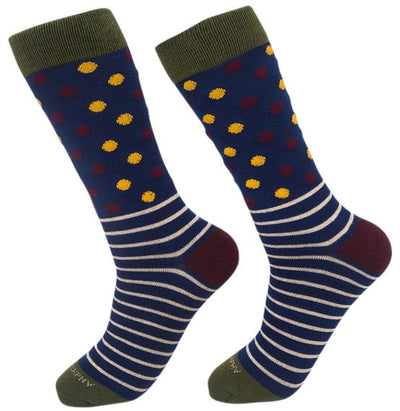 Socks-Dripes-Cool-Patterns-Crew-Socks-forest