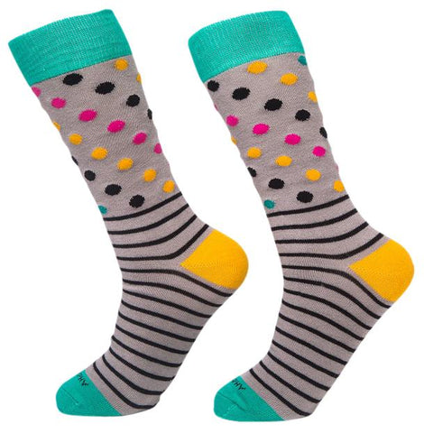 Socks-Dripes-Cool-Patterns-Crew-Socks-gray