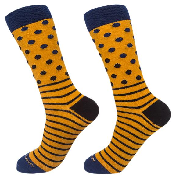 Socks-Dripes-Cool-Patterns-Crew-Socks-mustard