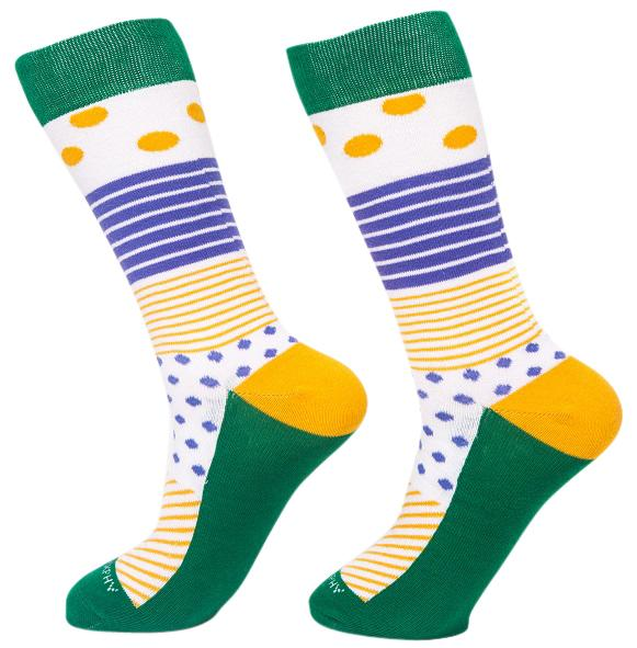 Socks-Even-More-Stripes-Cool-Patterns-Crew-Socks-green