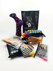 Sock of the Month Club-12 Months Prepaid-3 Months FREE