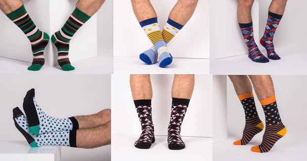PROMOTION - 1 Pair - Sock of the Month Club