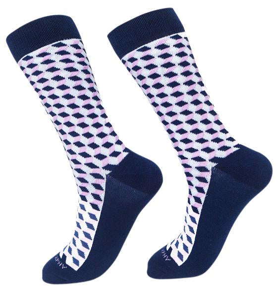 Socks-Squared-Cool-Patterns-Crew-Socks-pink