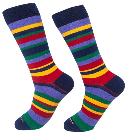 Socks-Standard-Stripes-Cool-Patterns-Crew-Socks-yellow