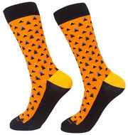 Socks-Triangle-Me-Cool-Patterns-Crew-Socks-orange