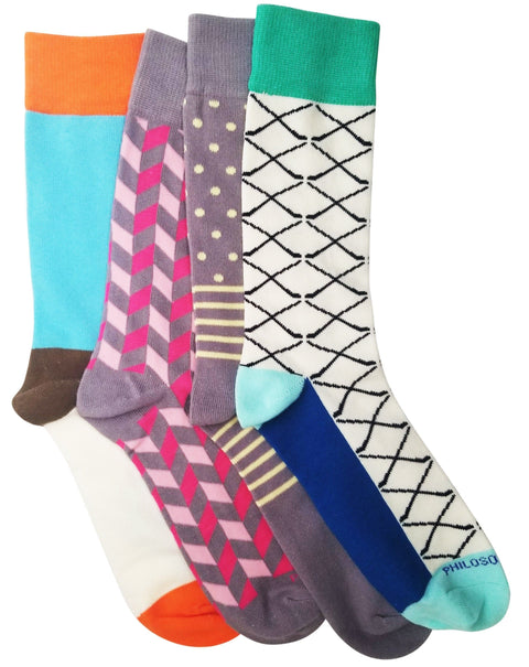 Socks - Assorted Socks (4 Pairs) - Even More Spring Colors