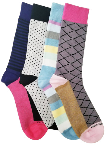 Socks - Assorted Socks (4 Pairs) - Even More Summer Colors