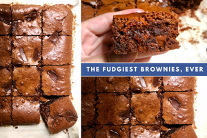 the fudgiest brownies