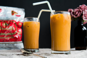 Quick & Simple Thai Iced Milk Tea Recipe [w/ video tutorial]