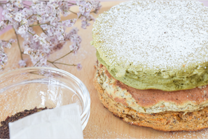 RECIPE: Sink your teeth into this stack of fluffy Thai Tea, Matcha & Earl Grey pancakes