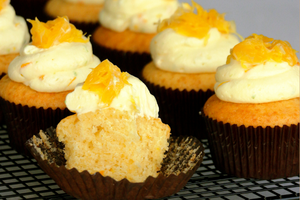 RECIPE: Make These Zesty Citrus Cream Cheese Cupcakes If You Have Leftover Oranges and Limes In Your Fridge