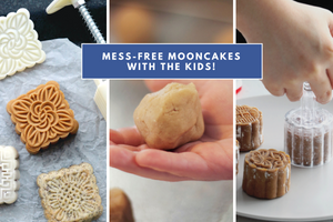making mooncakes with kids