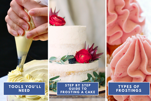 complete guide to frosting a cake