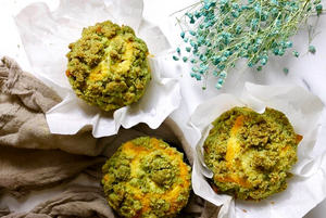 kaya pandan muffin recipe
