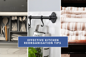 kitchen reorganisation tips