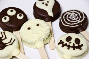 easy halloween Oreo pops recipe