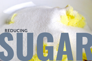 reducing sugar in your baked goods