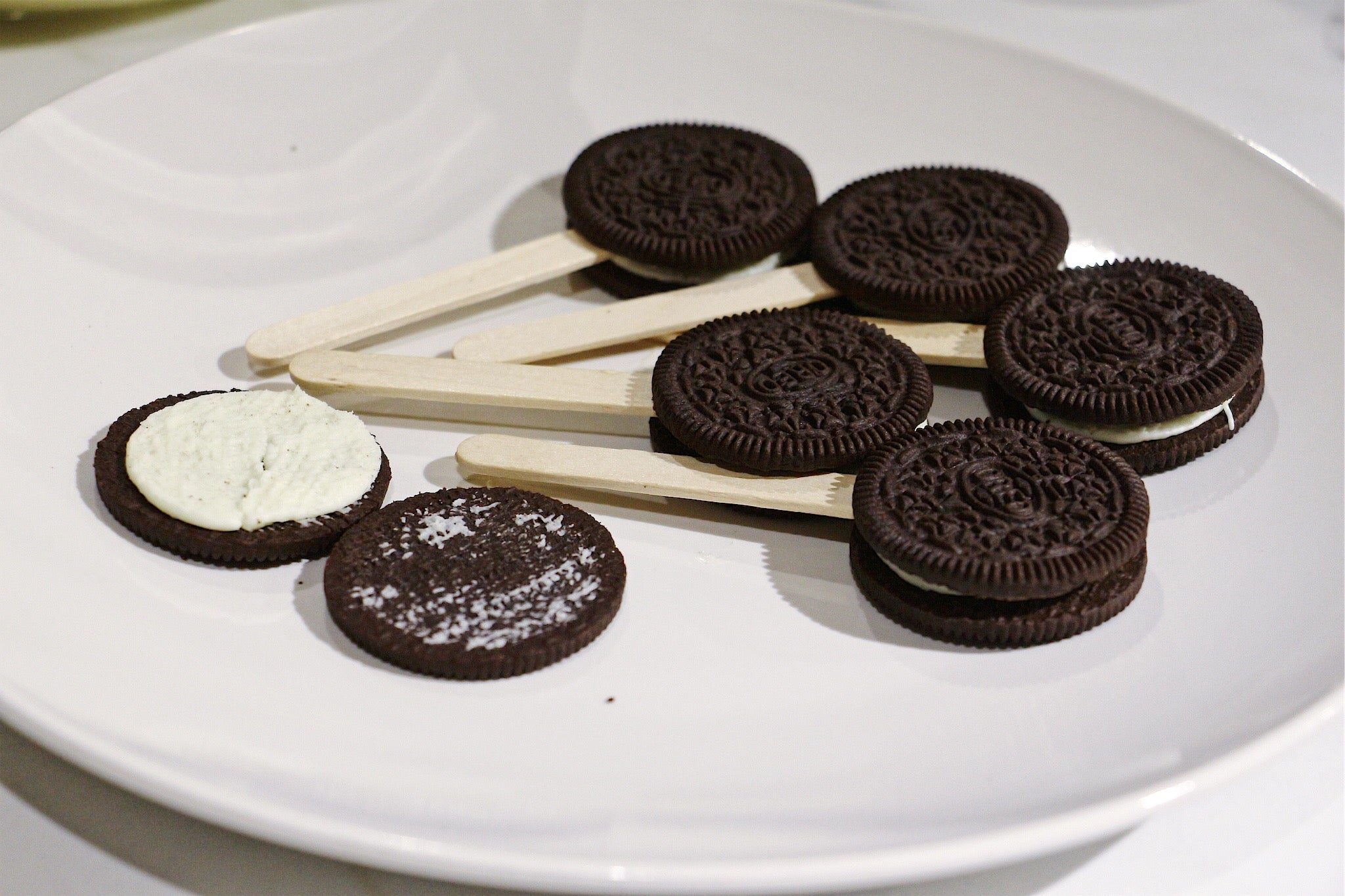 Oreo cookie pops recipe