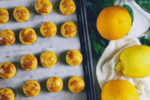 Apricot Citrus Tarts | makes ~60 tarts