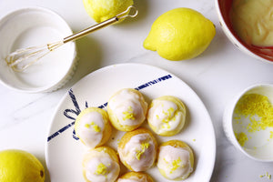 Lickin' Lemons | Lemon Drizzle Cream Puffs (makes ~20 puffs)