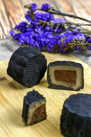 Earl Grey Dark Chocolate Truffle Snowskin Mooncakes (preorder)
