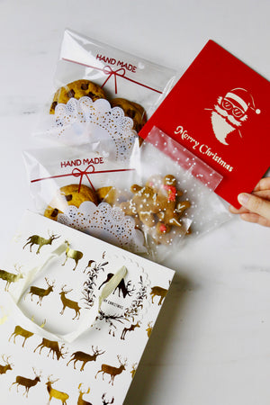 Merry Christmas! w/ Reindeer Paper Gift Bag(s)