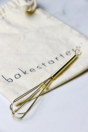Mini Whisk (Gold)