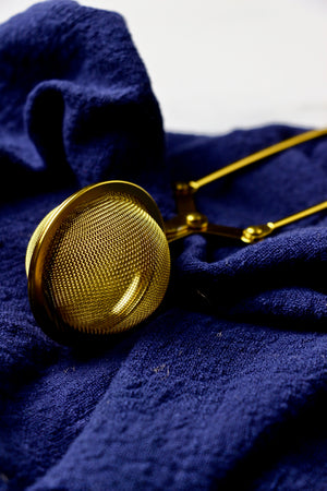 Mini Dusting Sieve (Gold)