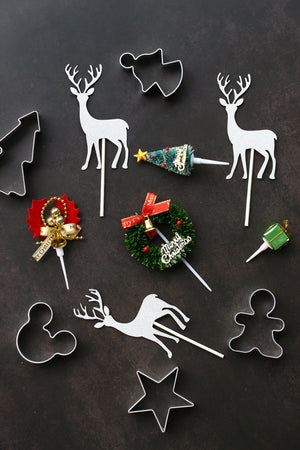 Christmas Cookie Cutters (Set of 5)
