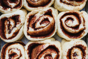 Homemade Fluffy Cinnamon Rolls