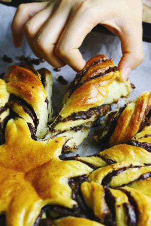 Chocotwists | Chocolate Star Bread