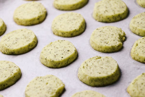 Lazy Earl | Earl Grey Shortbread Cookies (~28 cookies)