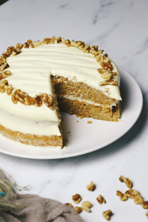 24 Carrot Gold | Carrot Cake with Cream Cheese Frosting