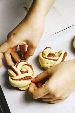 Knotty Cinnamon | Cinnamon Roll Knots