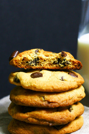 PB Perfect | Peanut Butter Dark Chocolate Chunk Cookies