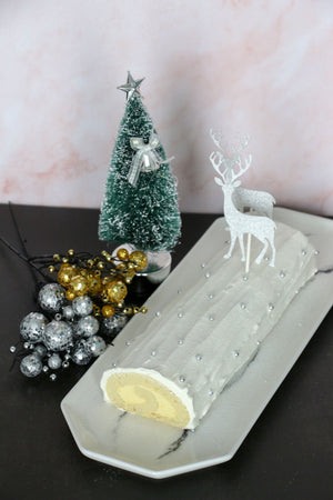 Snow White's Cottage | Passionfruit Yule Log